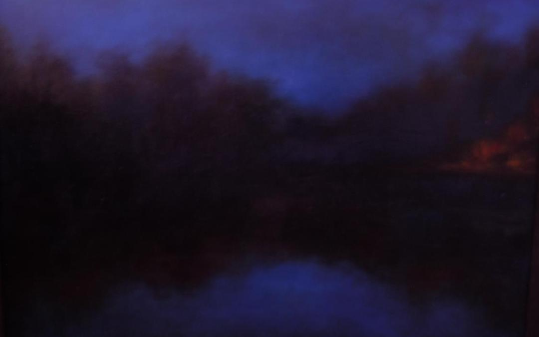 The Water At Dusk (SOLD)