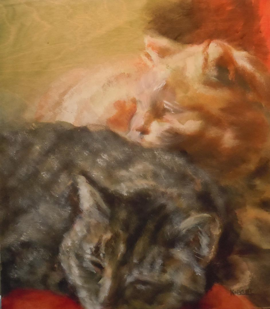 Two Kitties (SOLD)